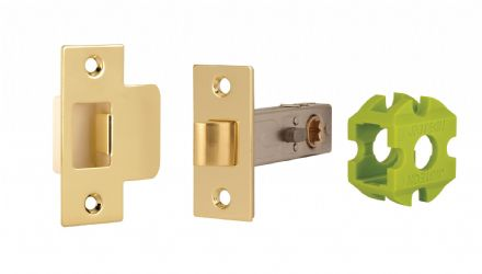 Jigtech JTL4402 Privacy Latch 57mm Polished Brass